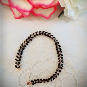 Jewelry - 🔥SALE🔥Genuine Sapphire & Diamond Tennis Bracelet